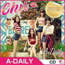 メンバー直筆サインCD ★ A-Daily 1st Mini Album [Chu]★ 1CD + 写真集50p ★1st ミニアルバム