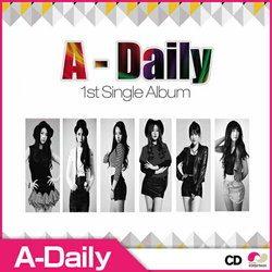 A-DAILY - 1ST SINGLE ALBUM ◆ エーデイリー 正規1集
