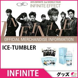 INFINITE EFFECT コンサート 2nd World tour★ICE-TUMBLER★アイスタンブラー Concert Goods