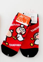 たわわちゃん靴下/レッド