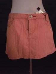 Vivienne Westwood(ヴィヴィアンウエストウッド)/RED LABEL/ピンクデニムミニスカート