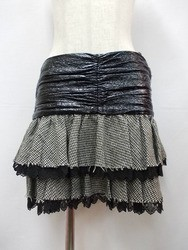 alice auaa(アリスアウアア)/ウエスト切り替えティアードスカート