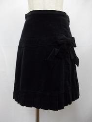 Emily Temple Cute(エミリーテンプルキュート)/裾タック別珍スカート