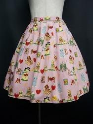 Emily Temple Cute(エミリーテンプルキュート)/クリスマスプリントスカート