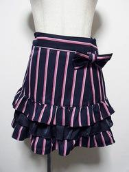 Emily Temple Cute(エミリーテンプルキュート)/レジメンタルティアードスカート