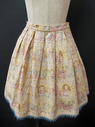 Emily Temple Cute(エミリーテンプルキュート)/ドールハウスプリントスカート