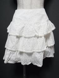MILK(ミルク)/お花型抜きティアードスカート
