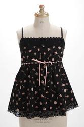 【direct sales】Talking Rose Camisole  Color: Black