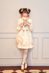 【direct sales】Falling Alice Dress  color: Ivory