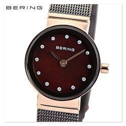 BERING ベーリング 10122-265 メンズ レディース ユニセックス スリム 時計 腕時計 プレゼント 贈り物 ギフト 彼氏 フォーマル カジュアル ペアウォッチ 北欧[あす楽]