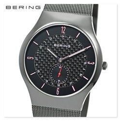 BERING ベーリング 11940-377 メンズ レディース ユニセックス スリム 時計 腕時計 プレゼント 贈り物 ギフト 彼氏 フォーマル カジュアル ペアウォッチ 北欧[あす楽]