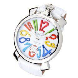 GaGa MILANO ガガミラノ 5010.1S 5010.01S MANUALE マヌアーレ 48mm メンズ レディース 時計 腕時計 プレゼント ギフト 贈り物[あす楽]