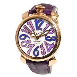 GaGa MILANO ガガミラノ 5021.4 5021.04 MANUALE マヌアーレ 40mm メンズ レディース 時計 腕時計 プレゼント ギフト 贈り物[あす楽]