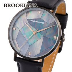 ブルッキアーナ BROOKIANA ROUND SLIM PEARL BA3101-RPGLBKレディース 時計 腕時計 クオーツ