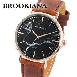ブルッキアーナ BROOKIANA ROUND SLIM MARBLE BA3101-RSBLBR レディース 時計 腕時計 クオーツ