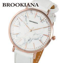 ブルッキアーナ BROOKIANA ROUND SLIM MARBLE BA3102-RSWLWH レディース 時計 腕時計 クオーツ