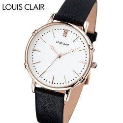 ルイクレール LOUIS CLAIR Rosiers ロジエ CL02-BK レディース 時計 腕時計 クオーツ