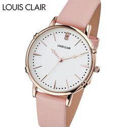 ルイクレール LOUIS CLAIR Rosiers ロジエ CL02-PL レディース 時計 腕時計 クオーツ