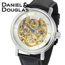 ダニエルダグラス DANIEL&DOUGLAS ダニエル ダグラス DD8805-SVGP メンズ 時計 腕時計 自動巻き オートマチック スケルトン