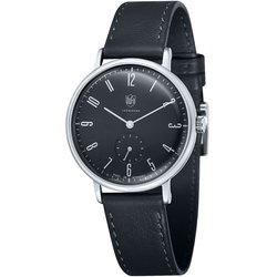 DUFA ドゥッファ DF-9001-01 GROPIUS 時計 腕時計 メンズ レディース 男性 女性 ブラック おしゃれ プレゼント 贈り物 ギフト ドイツ バウハウス[あす楽]