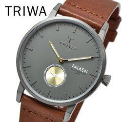 TRIWA トリワ FAST102-CL010213 WALTER FALKEN BROWN メンズ レディース ユニセックス 時計 腕時計 プレゼント 贈り物 ギフト 彼氏 フォーマル カジュアル ペアウォッチ 北欧[あす楽]