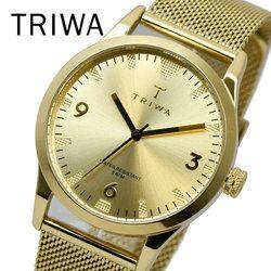 TRIWA トリワ LAST114-ME021313 SORT OF BLACK GOLD 換えベルト付属 メンズ レディース ユニセックス 時計 腕時計 プレゼント 贈り物 ギフト 彼氏 フォーマル カジュアル ペアウォッチ 北欧[あす楽]