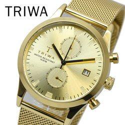 TRIWA トリワ LCST109 ME021313 SORT OF BLACK GOLD CHRONO メンズ レディース ユニセックス 時計 腕時計 プレゼント 贈り物 ギフト 彼氏 フォーマル カジュアル ペアウォッチ 北欧[あす楽]