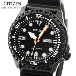 シチズン CITIZEN メガダイバー NH8385-11E メンズ 時計 腕時計 自動巻き オートマチック カレンダー