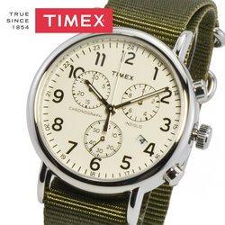 TIMEX タイメックス TW2P71400 WEEKENDER CHRONO ウィークエンダークロノ メンズ レディース ユニセックス 時計 腕時計 プレゼント 贈り物 ギフト 彼氏 カジュアル ミリタリー ペアウォッチ[あす楽]
