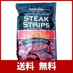 KARKLAND STEAK STRIPS ビーフジャーキー 300g