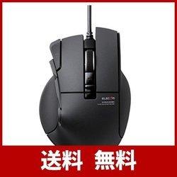 エレコム ゲーミングマウス <DUX> 有線 10ボタン 2400dpi ハードウェアマクロ対応 M-DUX30BK