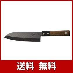 土佐刃物 包丁 アルチザン 三徳包丁 セラミック オクタ ブラック 155mm