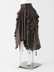 ベルト使いスカート