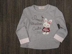 ウサギプリントTシャツ