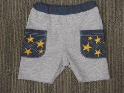 サイドポケット星刺繍パンツ