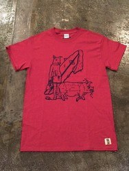 SURF A PIG メンズプリントTシャツ ST-1 [ST-1]