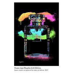 メゾンブランドアート コンテンポラリー  Brilliant /C.Garcia  REGULAR 540mm 690mm シンプルモダン 絵画 壁掛け  ※ご注文時【フレームカラー】額縁色を忘れずにお選びください。