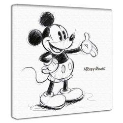 ミッキーマウス59  ファブリックパネル インテリア アートパネル 壁掛け 絵 おしゃれ 絵画