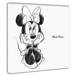 ミニーマウス  ファブリックパネル インテリア アートパネル 壁掛け 絵 おしゃれ 絵画