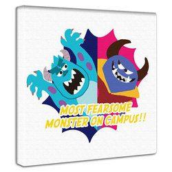 ファブリックパネル モンスターズインク インテリア 壁掛け 絵  Monsters Inc. Monsters University キャラクター グッズ