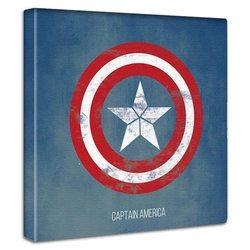 キャプテンアメリカ ファブリックパネル 壁 飾り 壁掛け 絵 キャンバス アヴェンジャーズ MARVEL HEROES