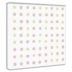 ドット柄 ファブリックパネル 簡単壁飾り おしゃれでリーズナブルな壁装飾 壁掛け 絵 おしゃれ インテリア アートパネル