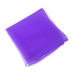 シフォンスカーフ 紫