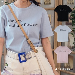 英字ロゴ半袖Tシャツ
