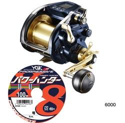 Shimano 19 Beast Master 6000 With PE Line #12(110lb)-400m English/Korean/Chinese/Japanese Display Electric Reel