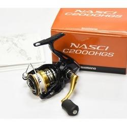 SHIMANO NASCI C2000HGS Spinning Reel