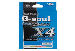 YGK Yotsuami G-soul SUPER JIGMAN X4 #3(40lb)-300m PE (Braided) Line