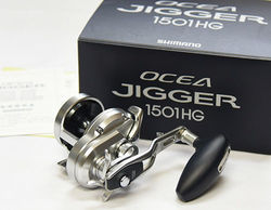 Shimano OCEA JIGGER 1501HG (LEFT HANDLE)  Baitcasting (Jigging) Reel