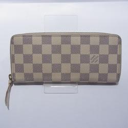 中古 ルイヴィトン Louis Vuitton ダミエ アズール ポルトフォイユ クレマンス N61210 財布 長財布 ユニセックス