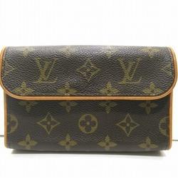中古 ルイヴィトン Louis Vuitton モノグラム ポシェット フロランティーヌ M51855 バッグ ウエストポーチ レディース